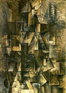 Pablo Picasso - Ma Jolie (1912)