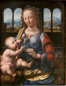 Madonna met de anjer - Leonardo da Vinci