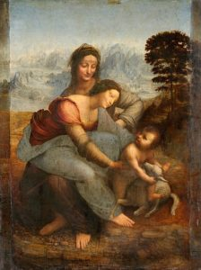 Maria met kind en Sint-Anna - Leonardo da Vinci