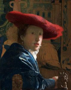 Meisje met de rode hoed (1665–66) - Johannes Vermeer