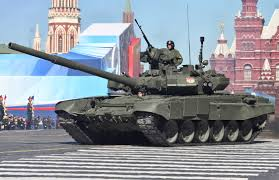 T-90S tanks
