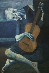 Pablo Picasso - Le Vieux Guitariste aveugle (1903)