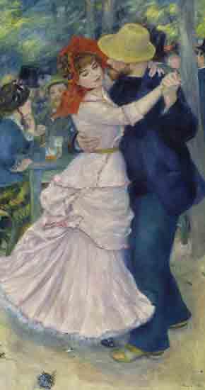 La Danse à Bougival - Pierre-Auguste Renoir (1883)