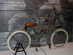 Harley Davidson 'Strap Tank' - 1907