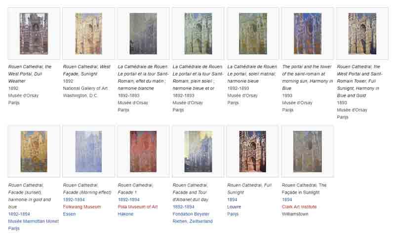 Série des Cathédrales de Rouen - Claude Monet (1892 – 1893)