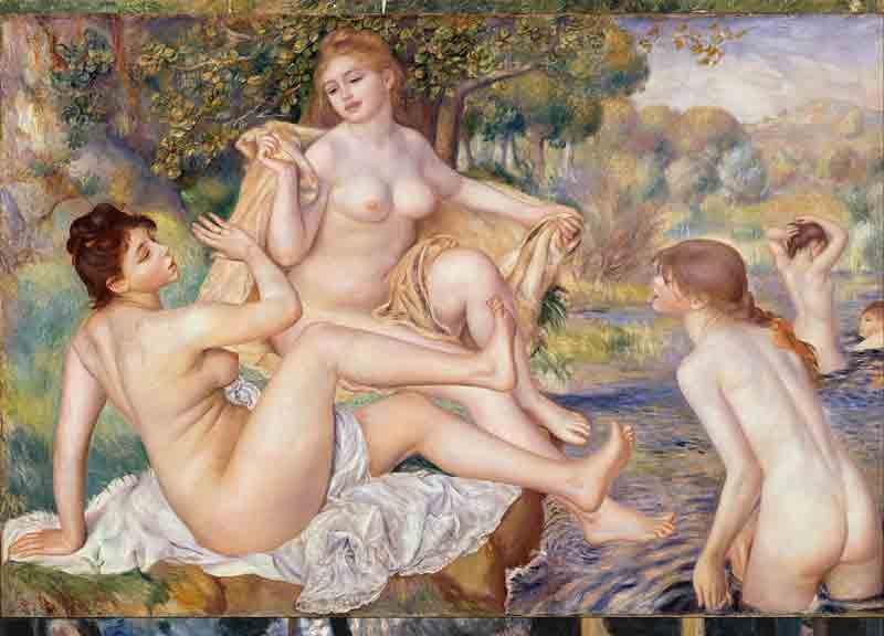 Les Grandes Baigneuses - Auguste Renoir (1884 – 1887)