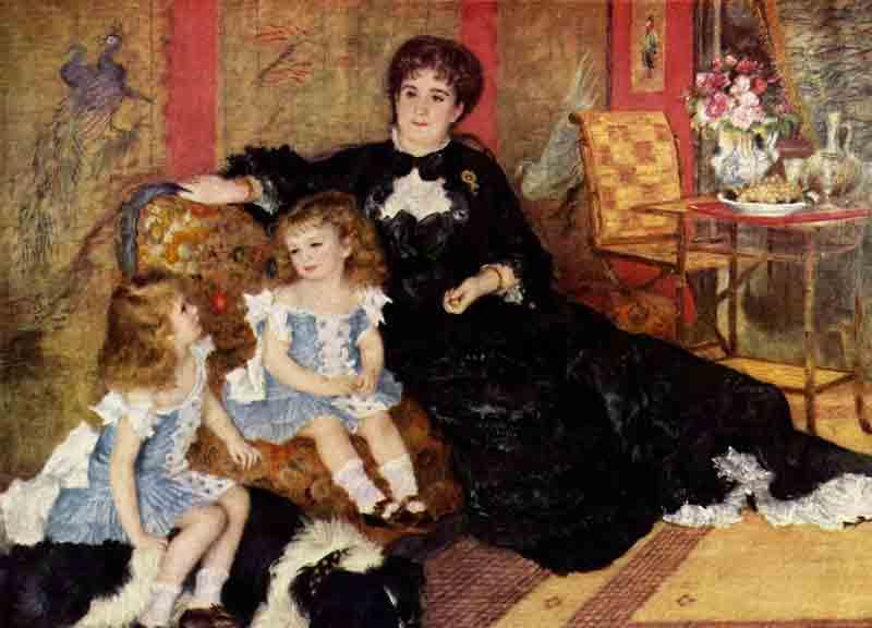 Madame Georges Charpentier et ses enfants - Pierre-Auguste Renoir (1878)