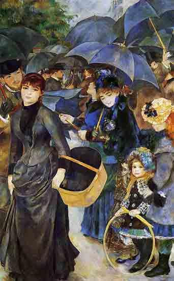 Les Parapluies - Pierre-Auguste Renoir  (1881 – 1886)