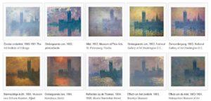 Londres, le Parlement. Trouée de soleil dans le brouillard (1900 – 1905)