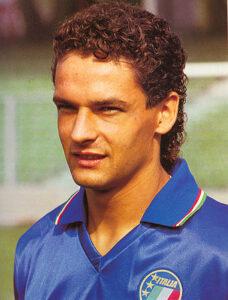 Roberto Baggio in 1990