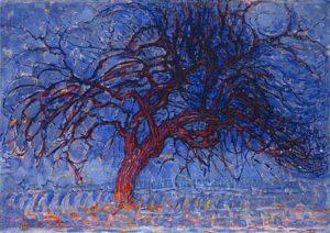 Piet Mondriaan: Avond; De rode boom - 1908 – 1910