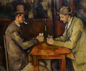 De kaartspelers / Les joueurs des cartes - Paul Cézanne - ci. 1890