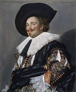 De lachende cavalier - Frans Hals - 1624