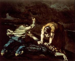 De moord / Le meurtre - Paul Cézanne - 1867 / 1868