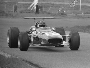 Jacky Ickx in de Brabham-Ford op 19 juni 1969 in Zandvoort