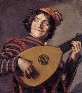 Luitspeler - Frans Hals - 1623