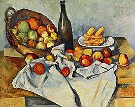 Mand met appelen / La corbeille de pommes - Paul Cézanne - 1895