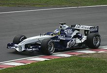 Quick Nick 2005 in de Williams FW27 BMW V10
