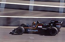 Stefan Bellof 1984 in de Tyrrell in Dallas