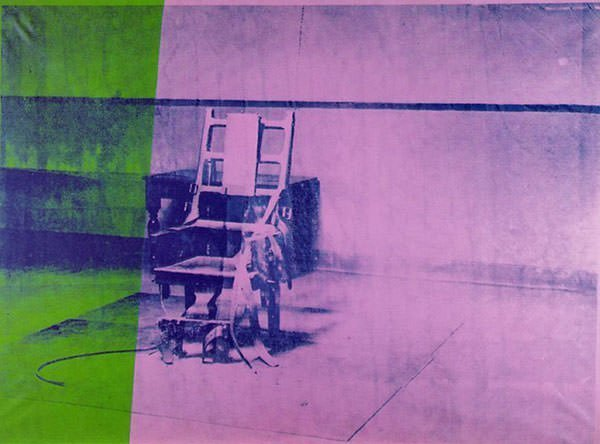 Andy Warhol - ig Electric Chair (1967)
