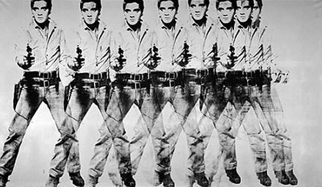 Andy Warhol - Eight Elvises (1963)