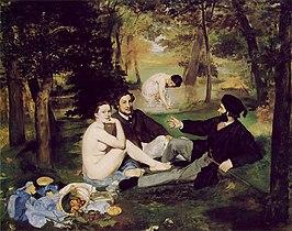 Le déjeuner sur l'herbe - Édouard Manet (1868)