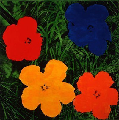 Andy Warhol - Flowers (1964)