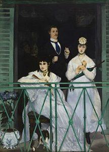 Top 10 bekendste schilderijen Édouard Manet: Het balkon - Édouard Manet (1868)