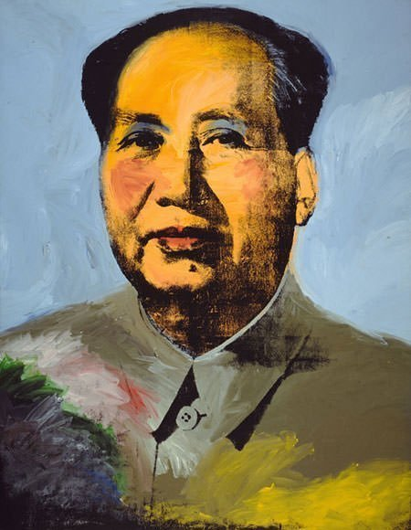 Andy Warhol - Mao (1973)