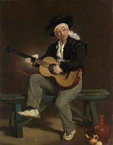 De Spaanse zanger - Édouard Manet (1860)