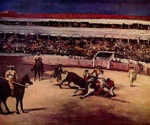 Top 10 bekendste schilderijen Édouard Manet: Stierenvechten - Édouard Manet (1865 / 1866)