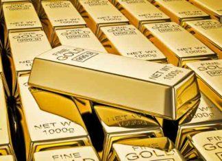 Goudreserves landen 2019 - De top 20 met Nederland op 10