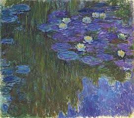 Nymphéas en fleur, Claude Monet
