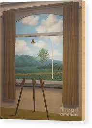 6. La condition humaine (1933) - René Magritte<