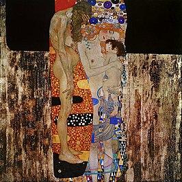De drie levensfasen van de vrouw / Die drei Lebensalter der Frau (1905) - Gustav Klimt