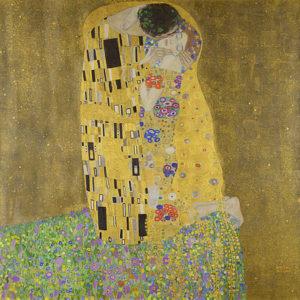 De kus / Der Kuss (1907-1908) - Gustav Klimt