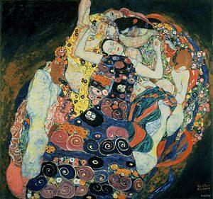 De maagd / Die Jungfrau (1912-1913) - Gustav Klimt