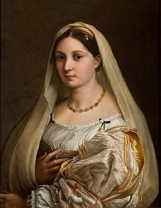 De vrouw met de sluier / La Donna Velata (1515) - Rafaël