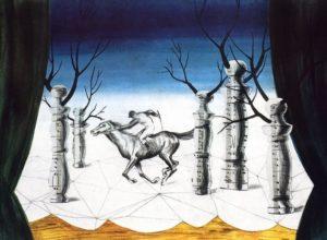 Le jockey perdu (1926) - René Magritte