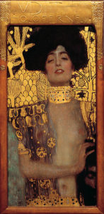 Judith I / - Judith und Holofernes (1901) - Gustav Klimt