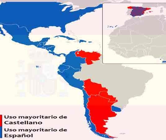 Landen waar Spaans de officiële taal is