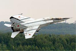 Mikojan-Goerevitsj MiG-25 - Snelste straaljagers van dit moment