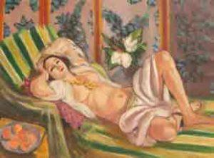Odalisque couchée aux magnolias, Henri Matisse