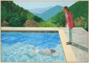 Portrait of an Artist (Pool with Two Figures), David Hockney