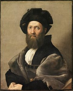 Portret van Baldassar Castiglione / Ritratto di Baldassarre Castiglione (1515)