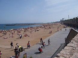 Strand van Barceloneta