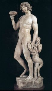 Bacchus (1497) - Michelangelo
