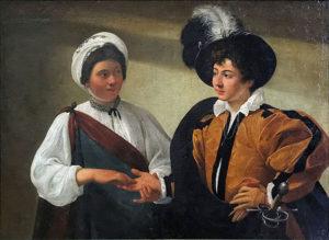De waarzegster / Buona ventura (c.1594) - Caravaggio