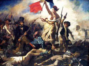 De tien beroemdste schilderijen van Delacroix - La Liberté guidant le peuple / De Vrijheid leidt het volk (1830) - Eugène Delacroix