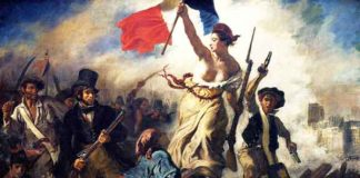 La Liberté guidant le peuple / De Vrijheid leidt het volk (1830) - Eugène Delacroix